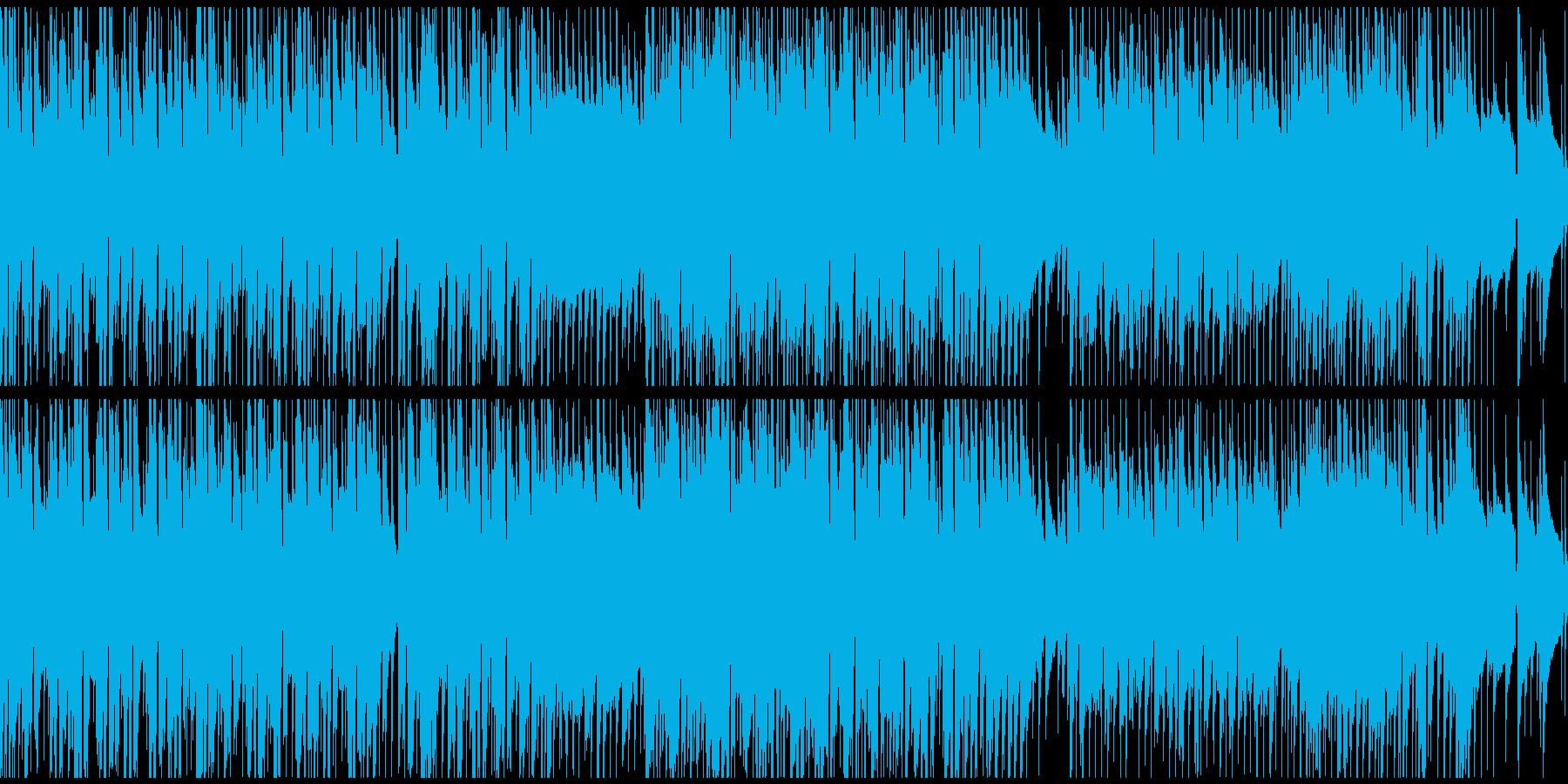 会社紹介、PR、CM向け爽やかBGMの再生済みの波形