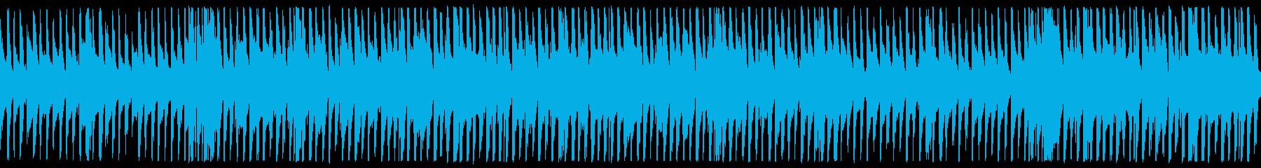明るく爽やかなPR動画用BGMの再生済みの波形