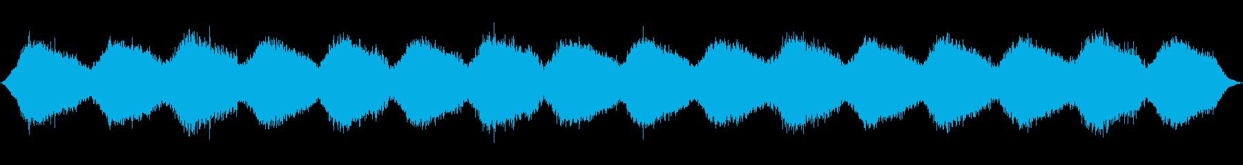 幻想的なヒーリング・アンビエントの再生済みの波形