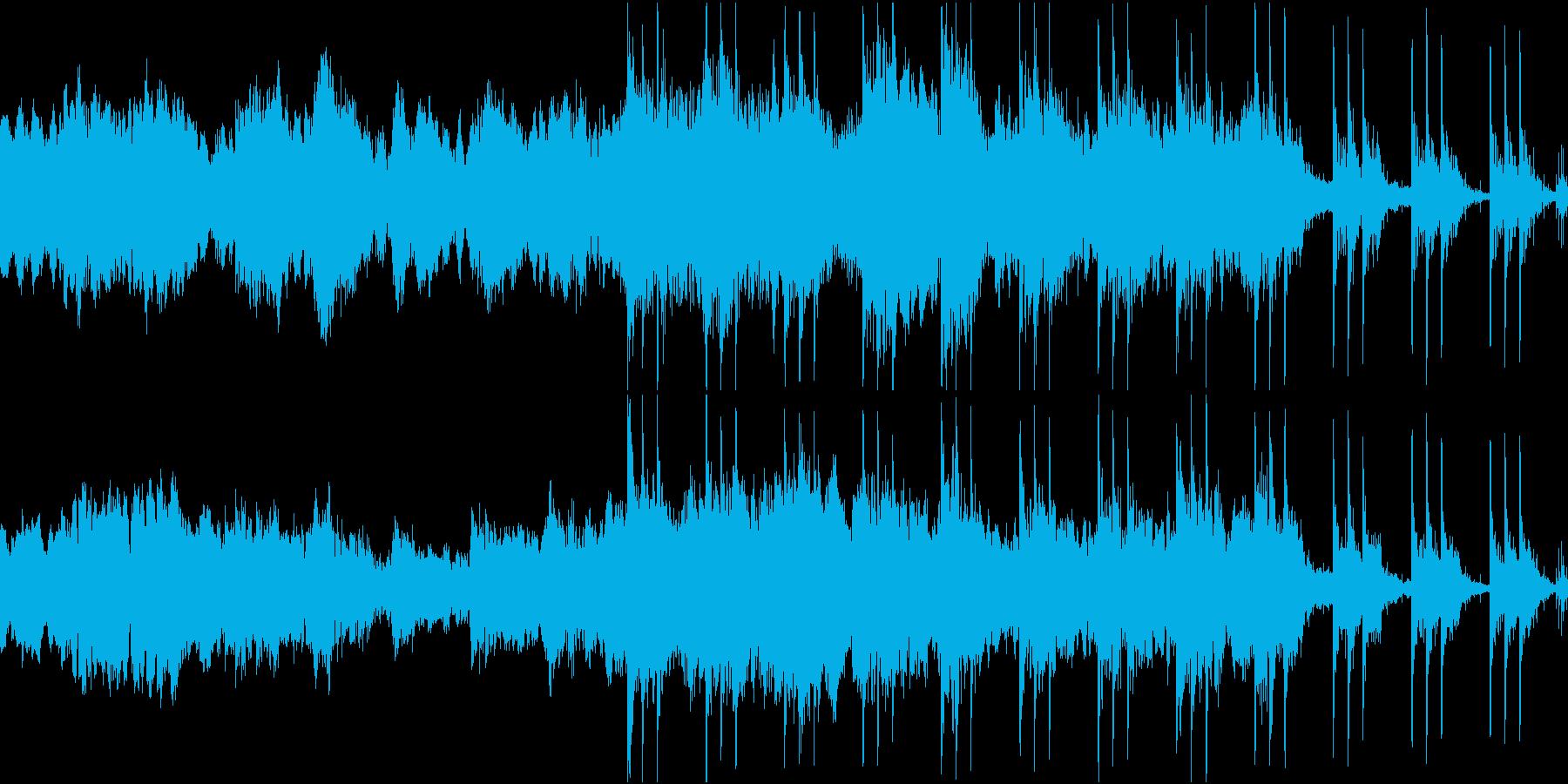 アンビエント 秘密 迷宮 謎 不思議LPの再生済みの波形
