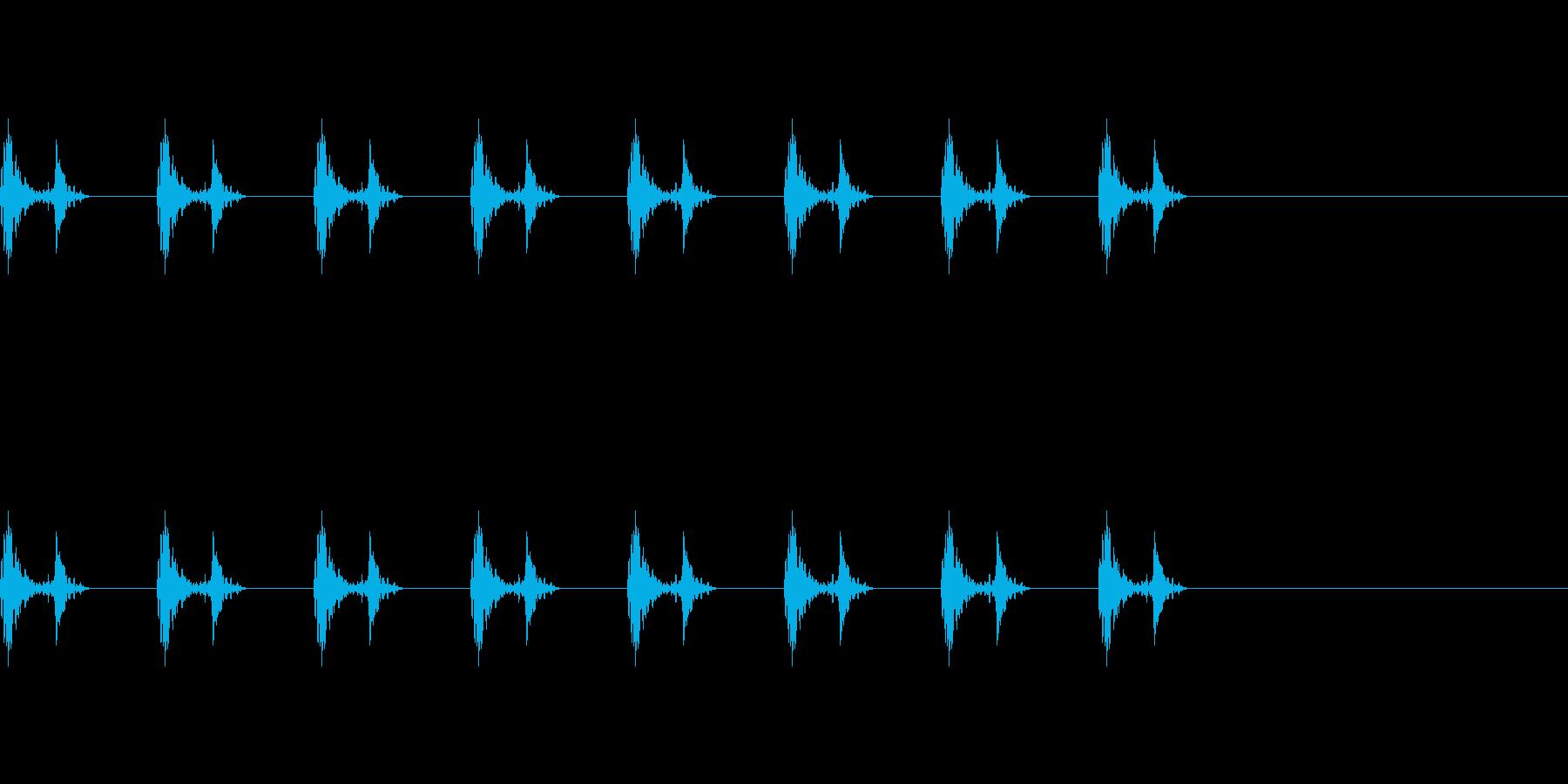 ドクドクの再生済みの波形
