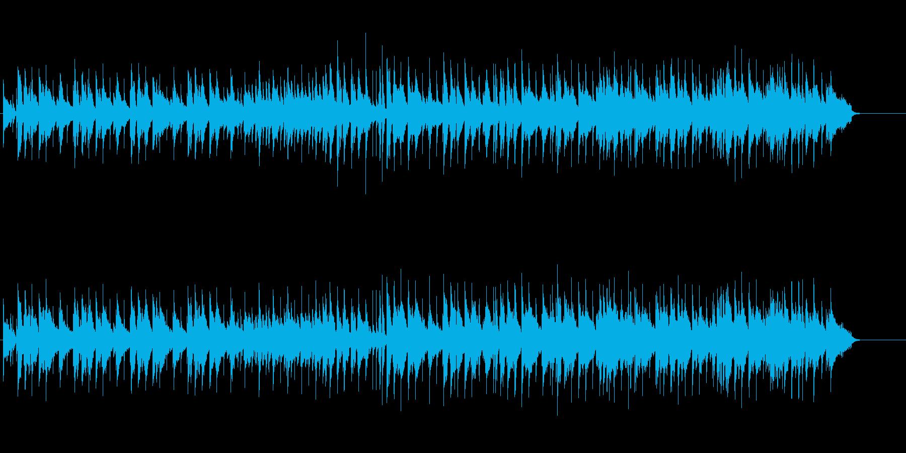 クールで控えめなフュージョン風の再生済みの波形