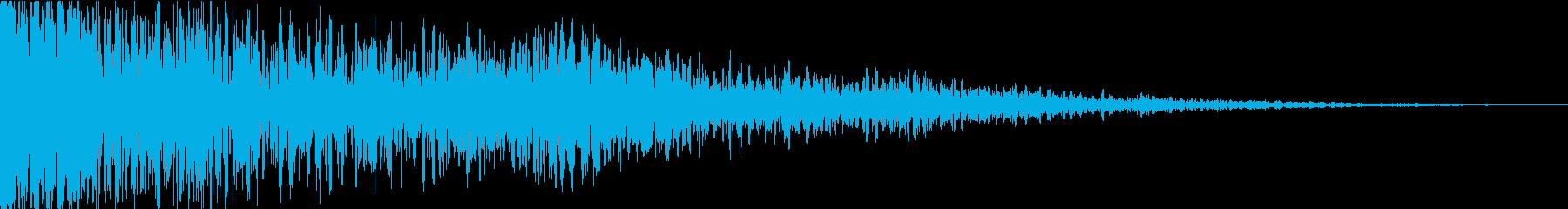ドゥーン! 投下音-ydxの再生済みの波形