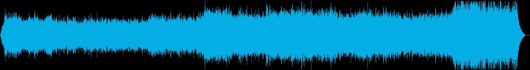重低音が響くダークアンビエントです。の再生済みの波形