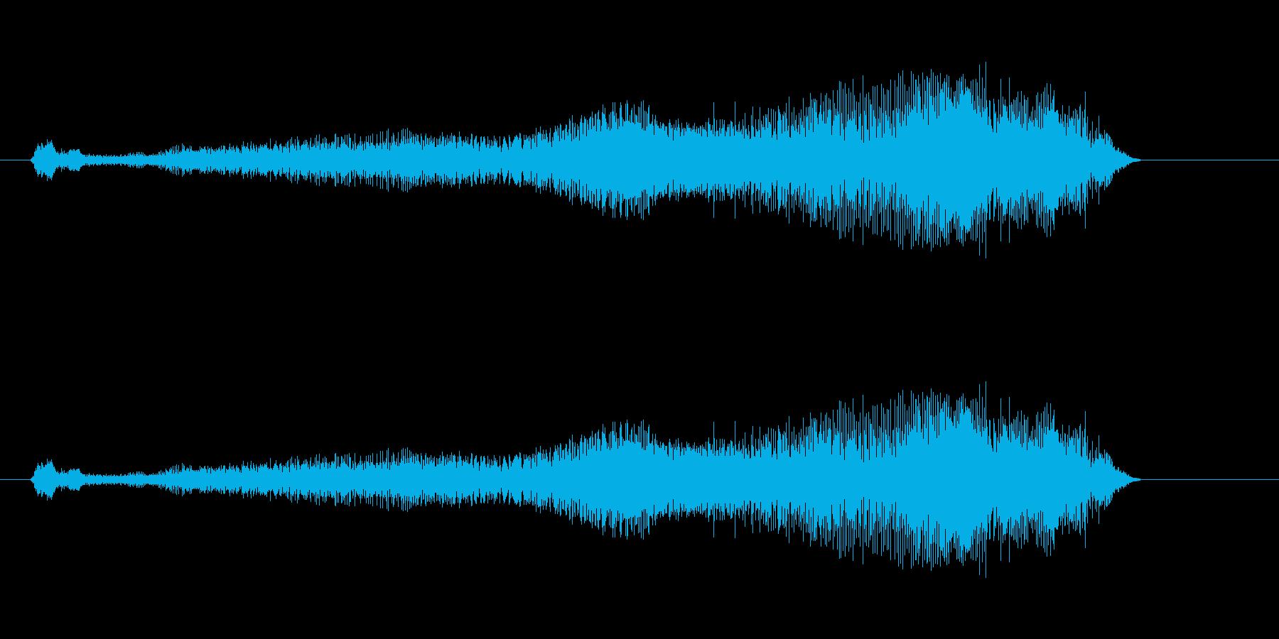 ふんぁぁぁぁぁぁぁぁぁぁあの再生済みの波形