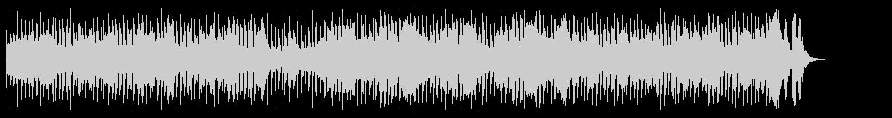 ヴギ・ウギのダンサブルなマイナーポップスの未再生の波形