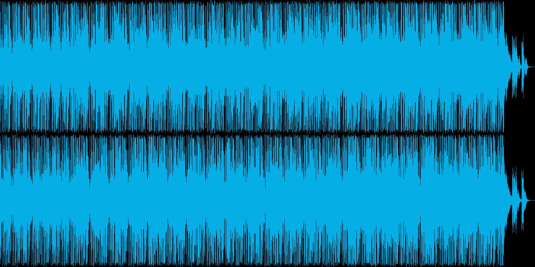 哀愁感あるトラップビートのインストの再生済みの波形