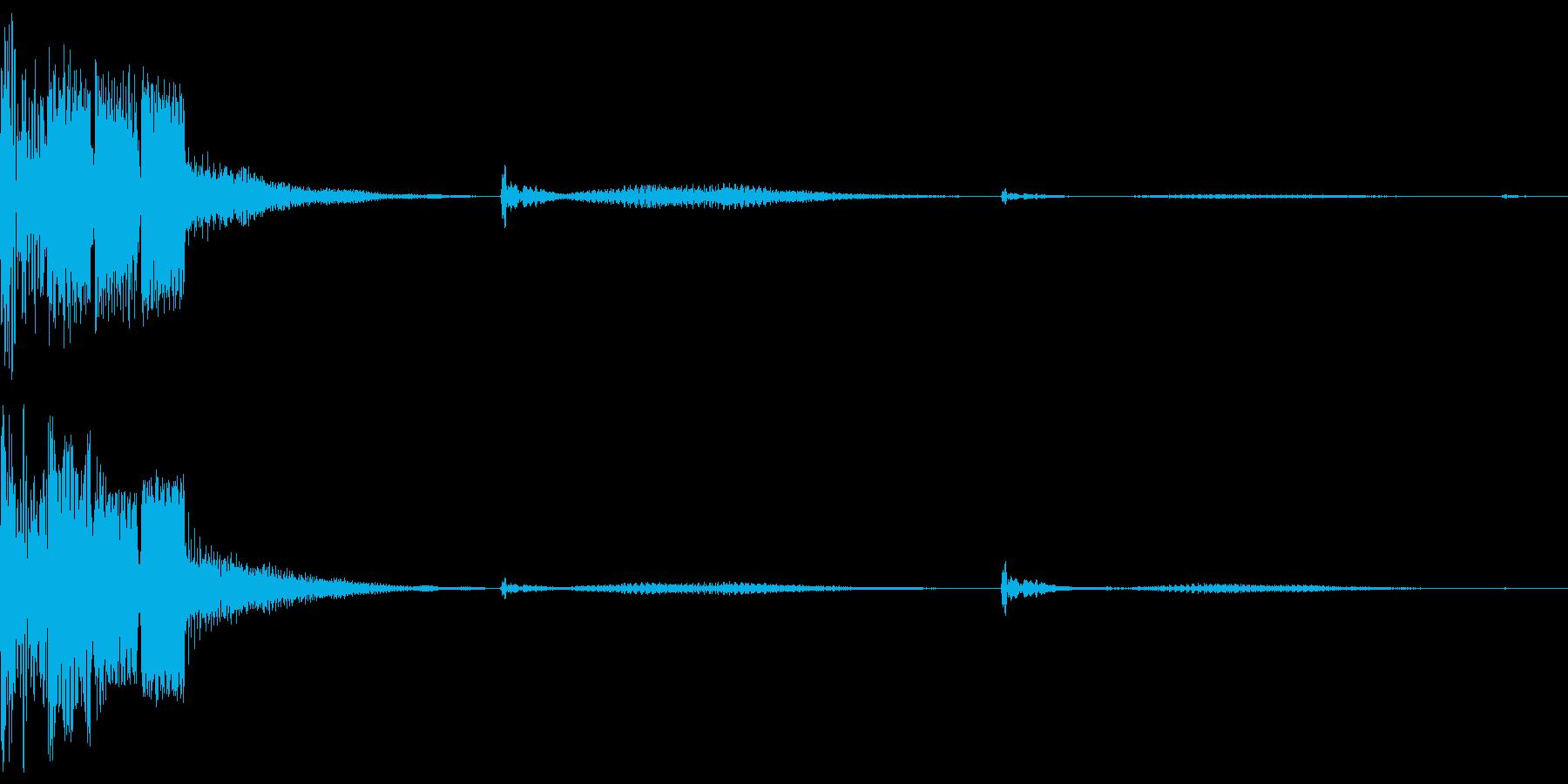 決定ボタン (近未来)の再生済みの波形
