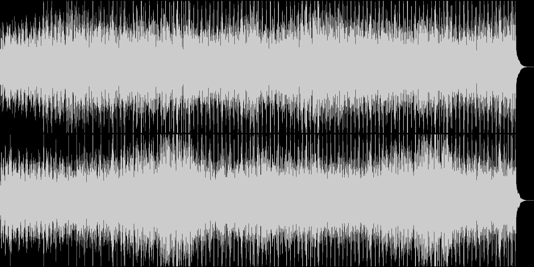 近未来の雰囲気たっぷりなシンセポップの未再生の波形