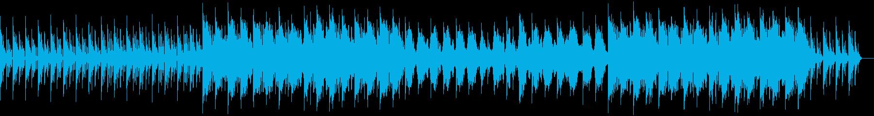 エンディング、バットエンドなど悲しい曲の再生済みの波形