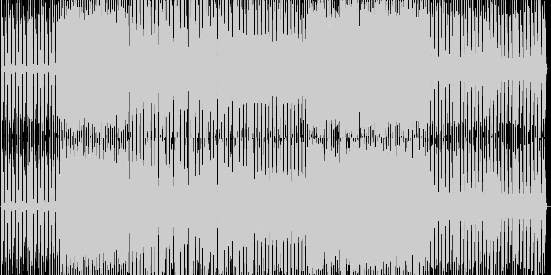 ピアノハウス+綺麗なヴァイオリンソロの未再生の波形