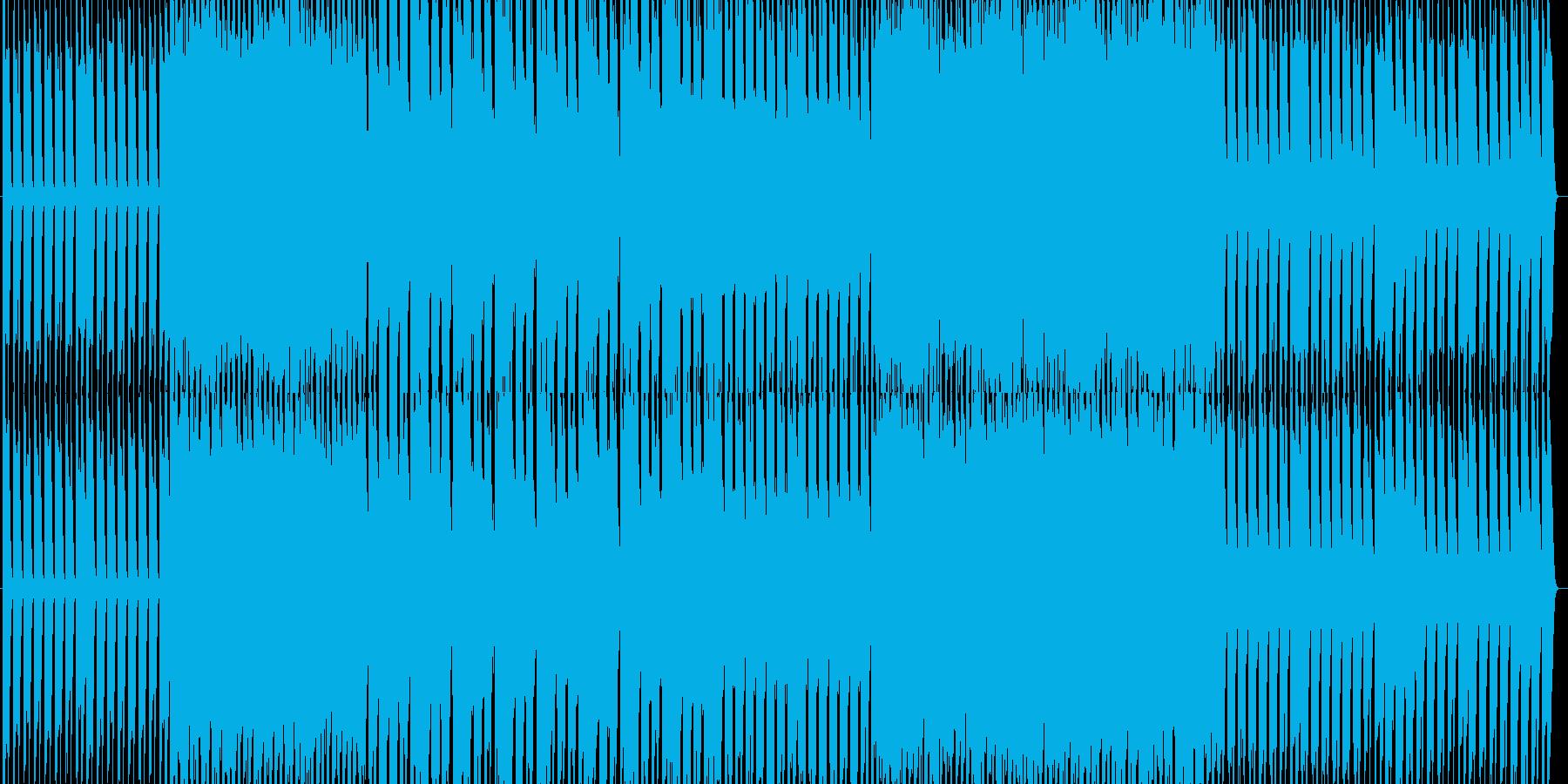 ピアノハウス+綺麗なヴァイオリンソロの再生済みの波形