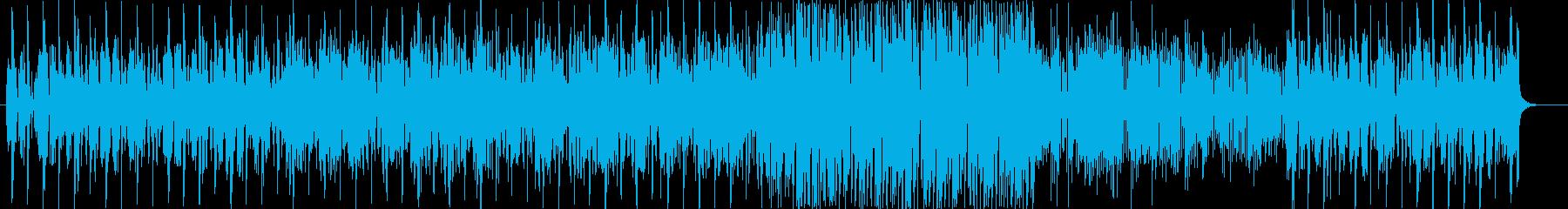 レゲエ風なラブソングの再生済みの波形