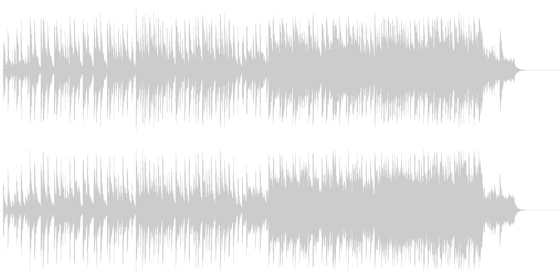 優しい 上品 メルヘン ブライダル 幸福の未再生の波形
