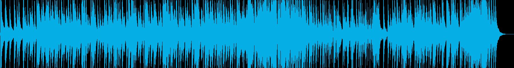 ゆったりとして、さわやかなボサノバの再生済みの波形
