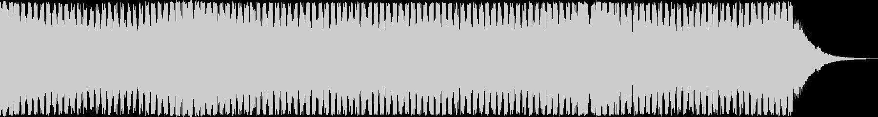 4打ちのトランス系EDMの未再生の波形