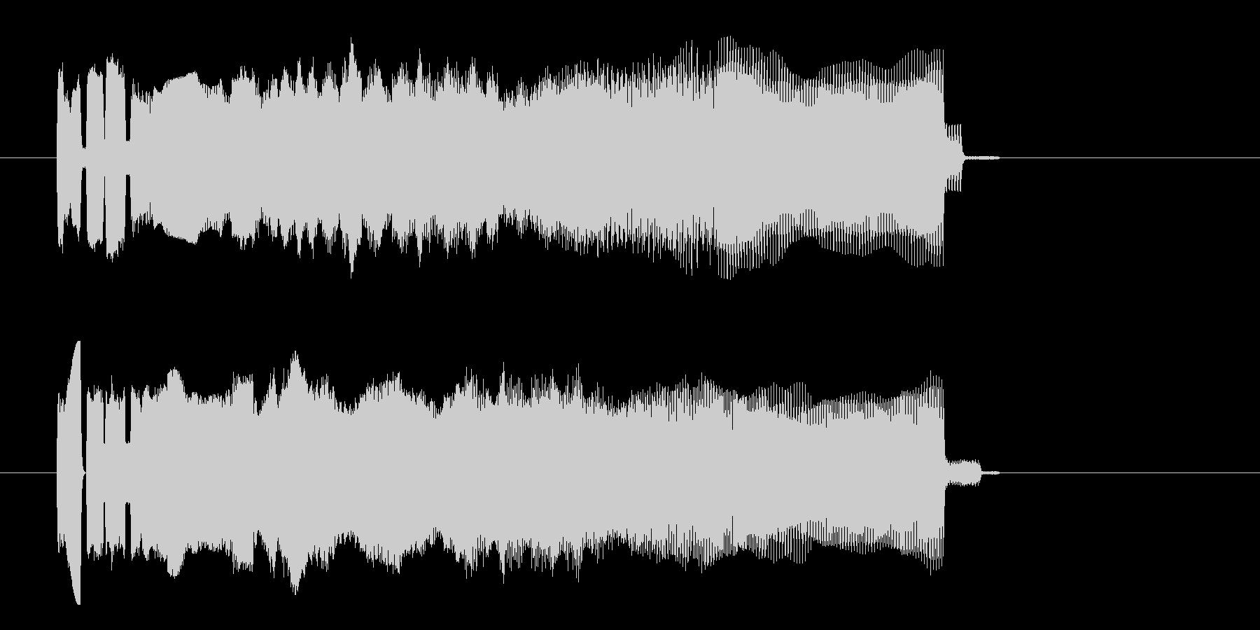 ピンポン~ブーの未再生の波形