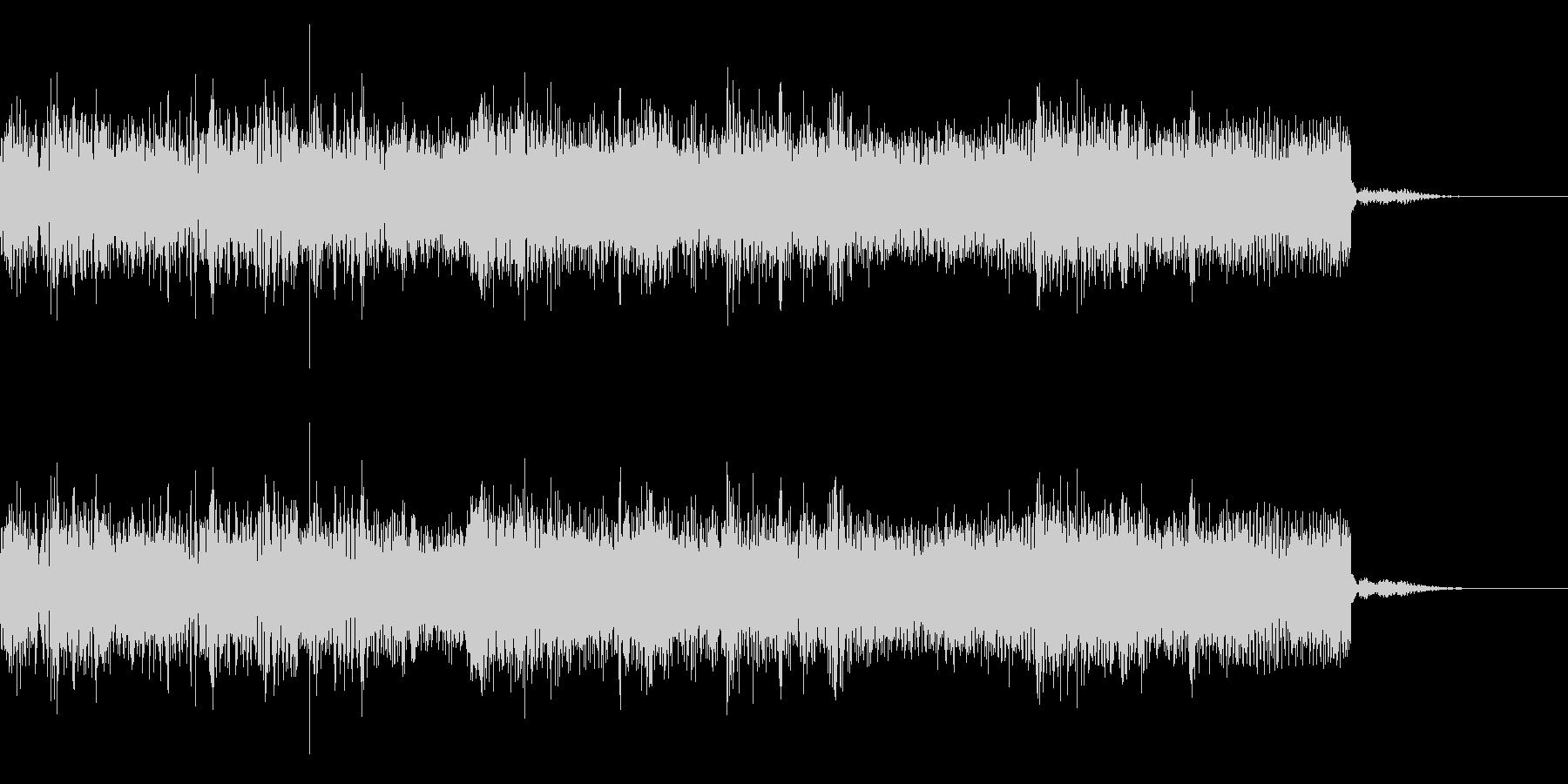 メタルなジングル 場面転換 CMインの未再生の波形