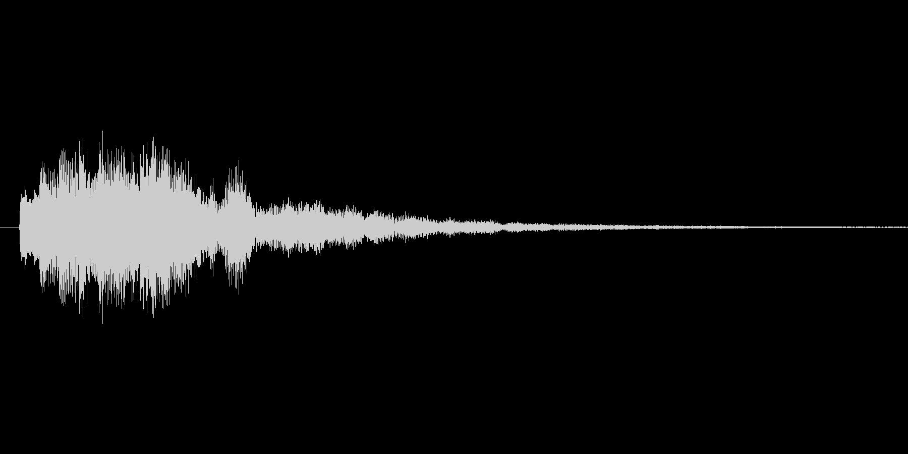 キラーーーン #61の未再生の波形