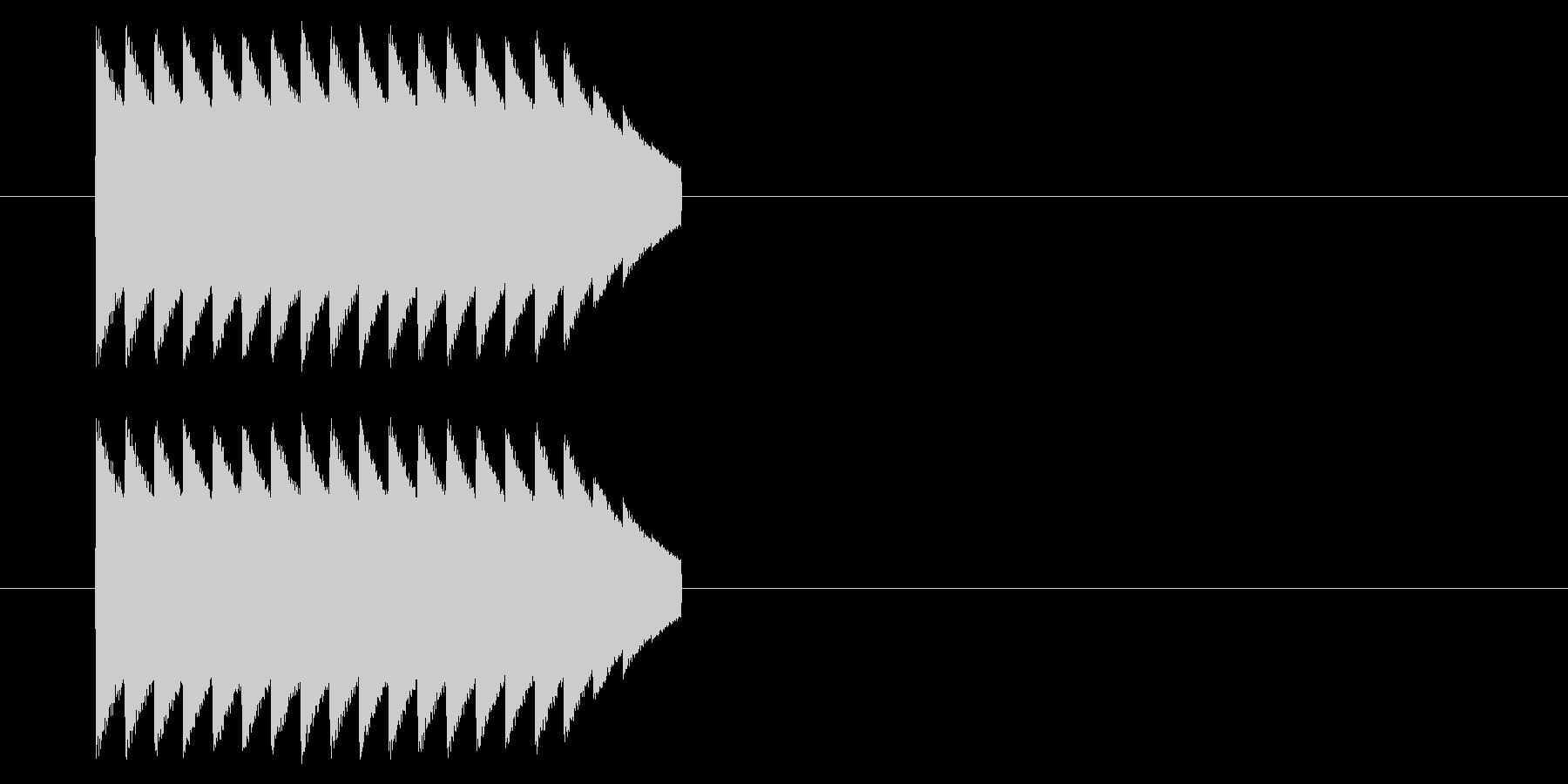 NES アクション01-12(アイテム)の未再生の波形