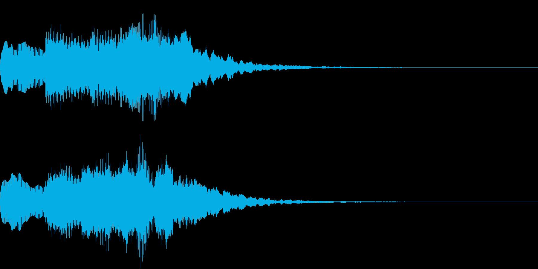 シンプル アナウンス 案内 放送 9の再生済みの波形