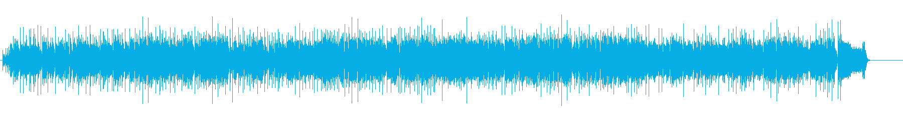 ちょっと陽気なブルースジャズの再生済みの波形