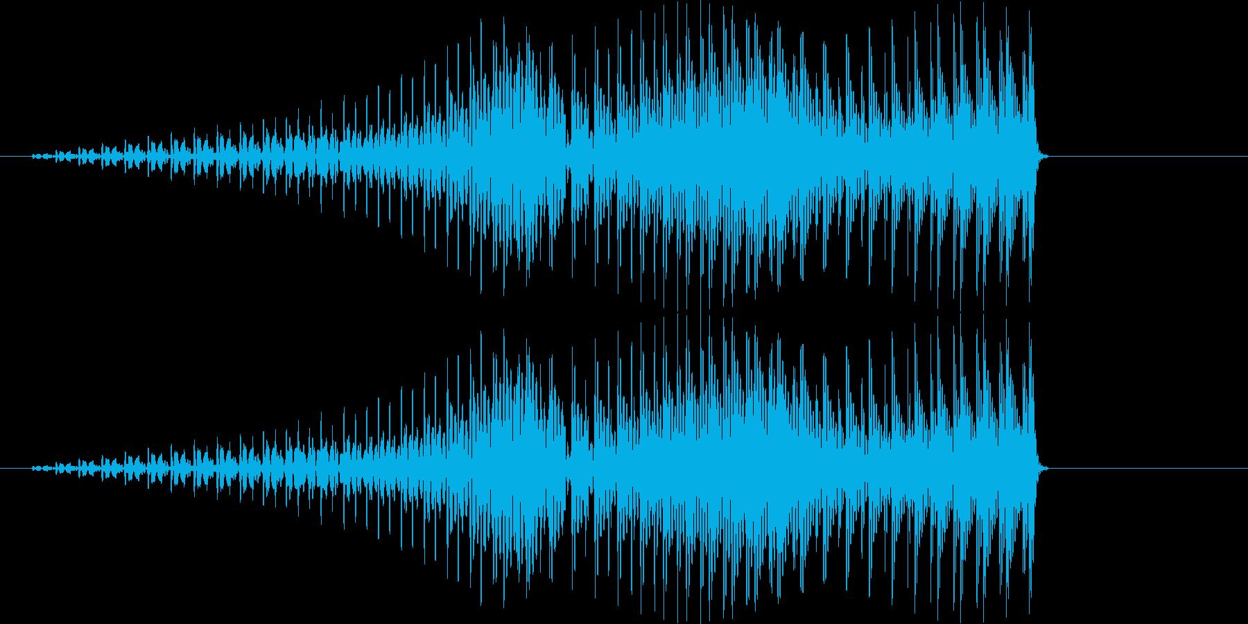 ぐえー コミカルの再生済みの波形
