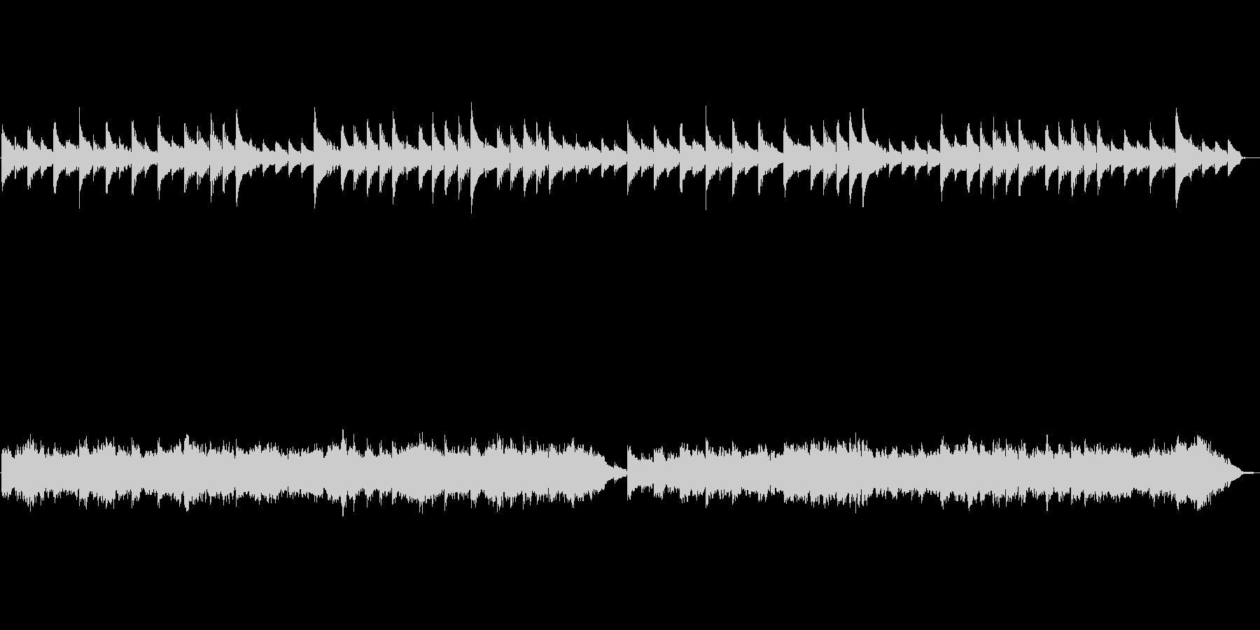 バッハのメヌエットをストリングスアレン…の未再生の波形