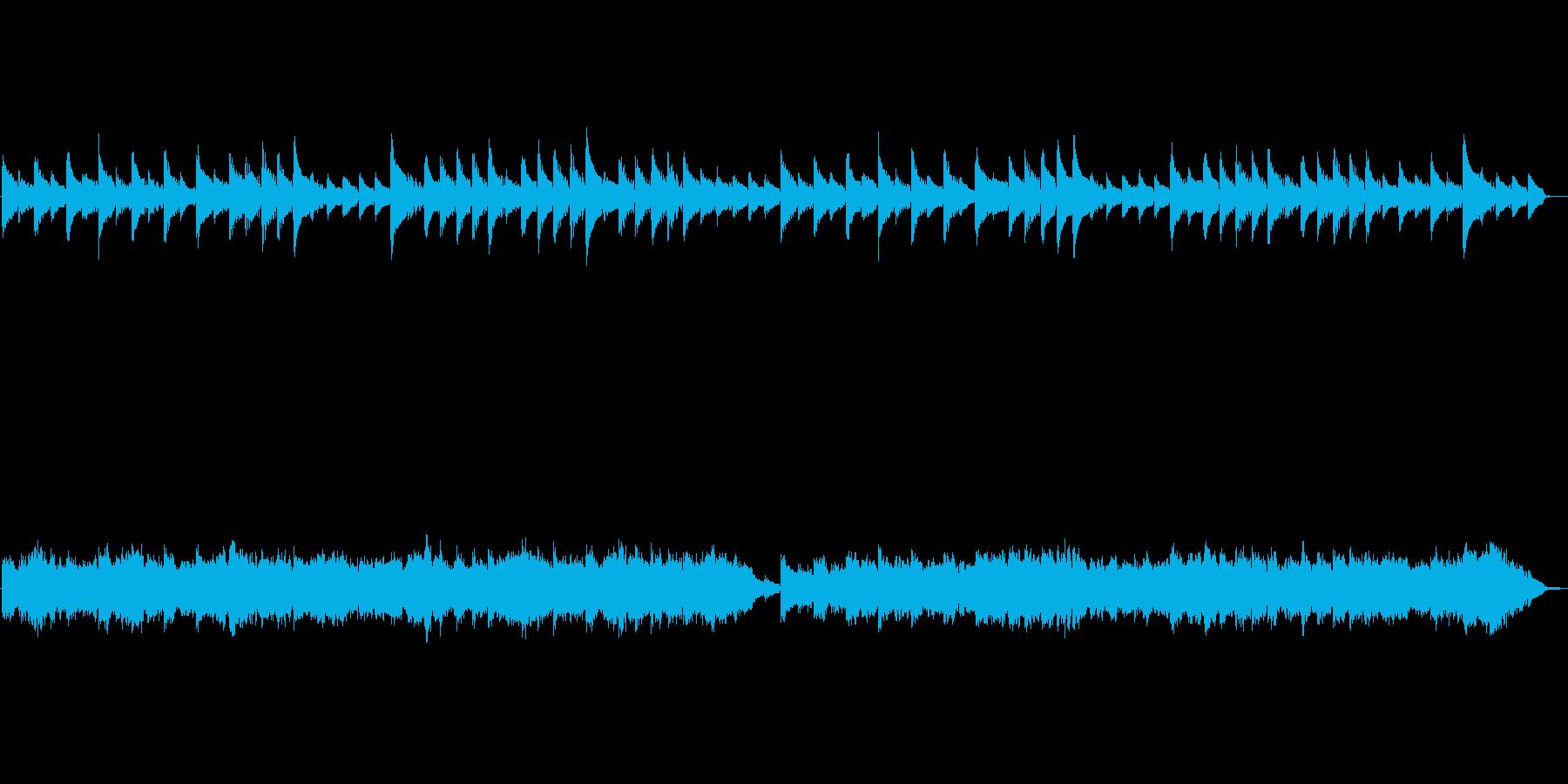 バッハのメヌエットをストリングスアレン…の再生済みの波形