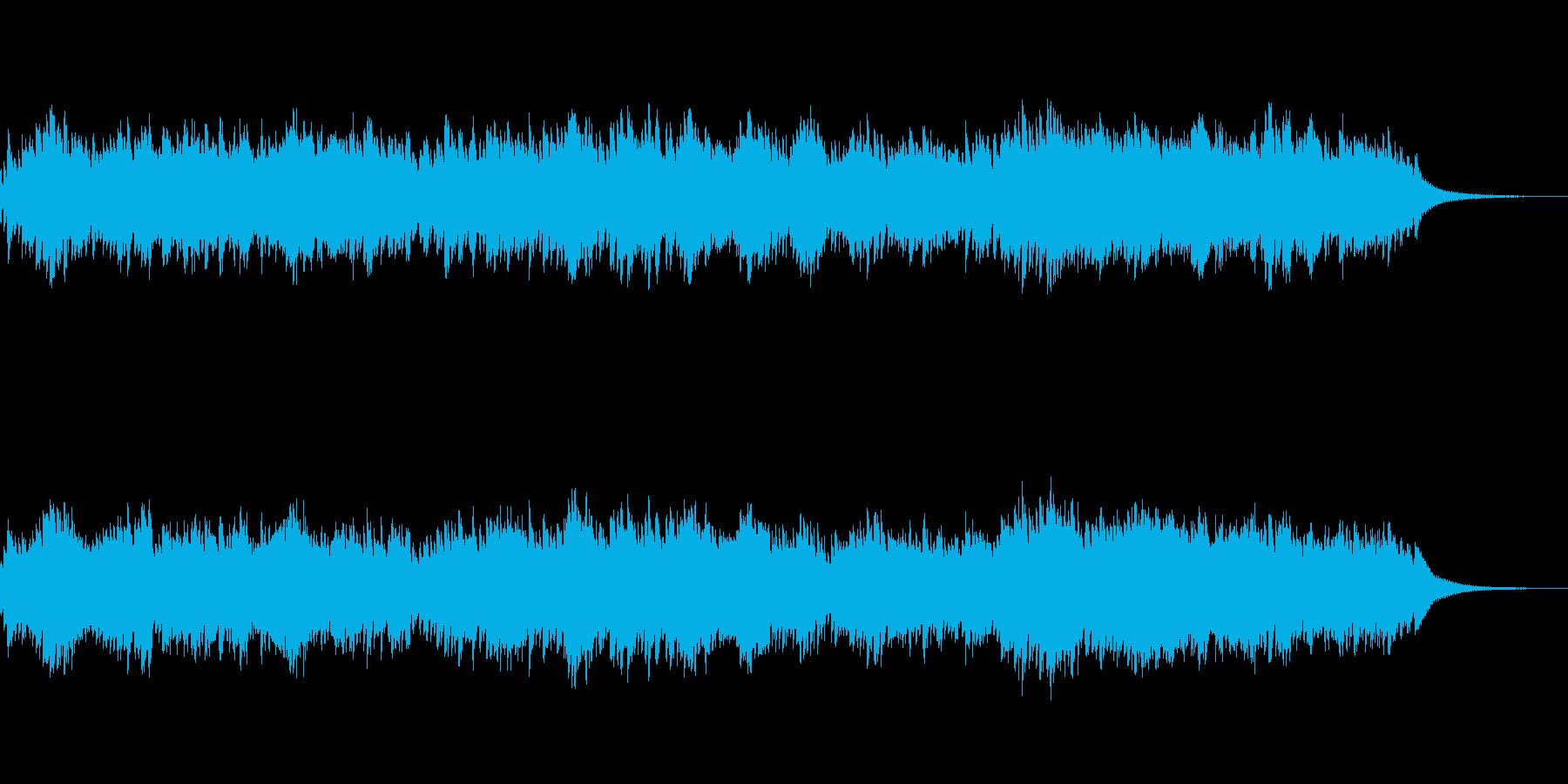 2声のインヴェンション13番 オルゴールの再生済みの波形