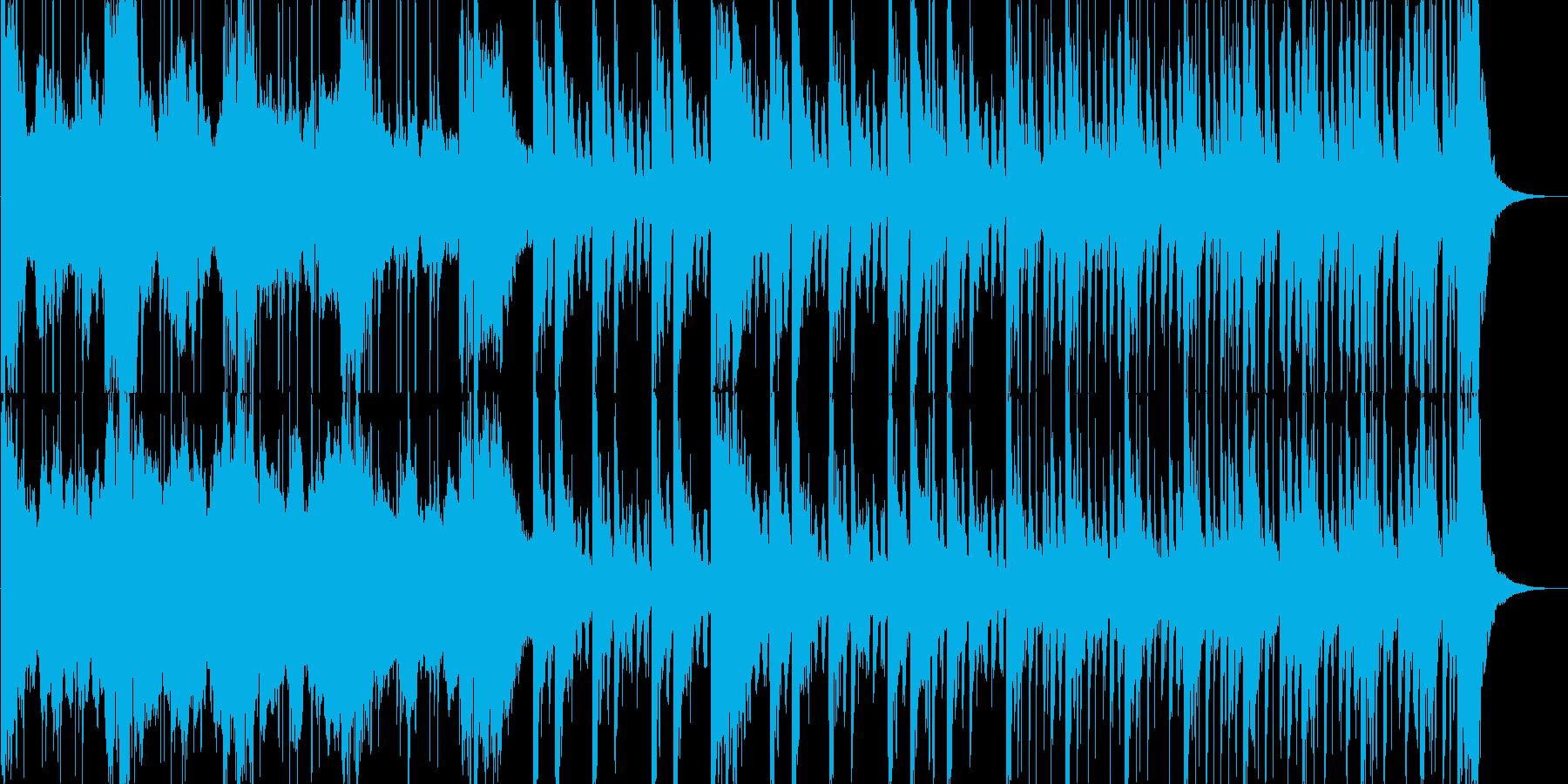映像系 何か始まりそうな感じの曲の再生済みの波形