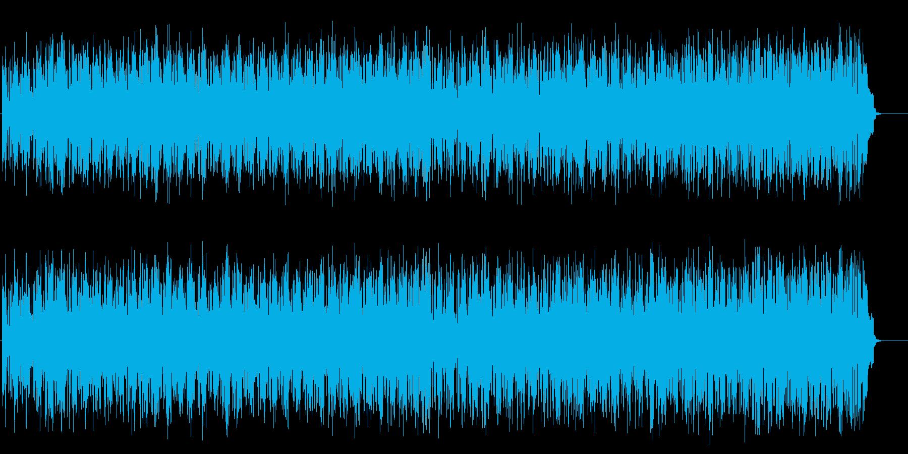 クールな感じのトレンディ・ポップス風の再生済みの波形