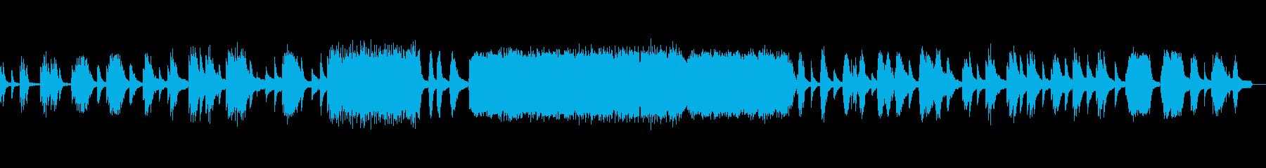ドビュッシー作曲『月の光』の再生済みの波形
