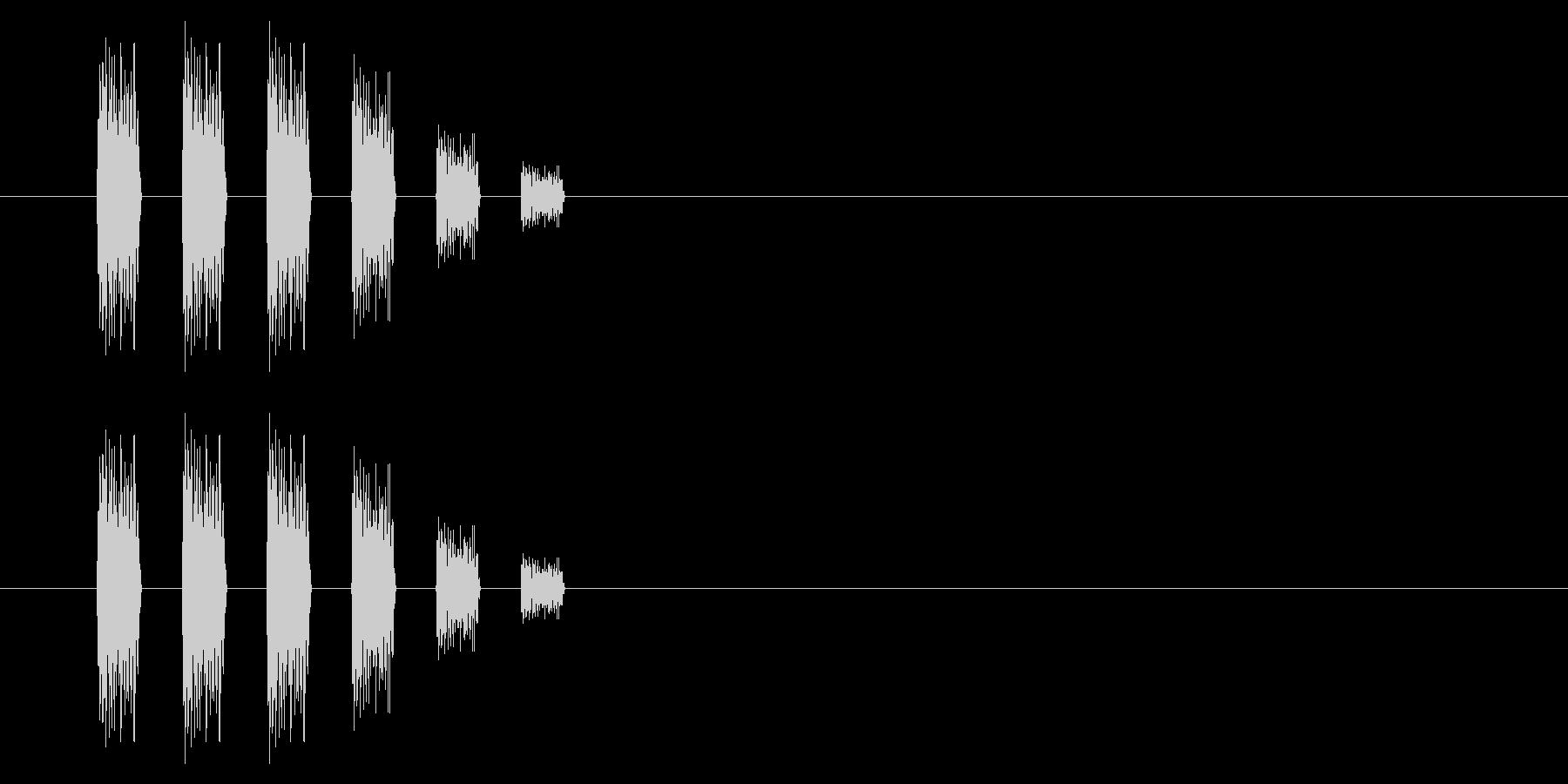 SNES-RPG05-18(逃げる)の未再生の波形