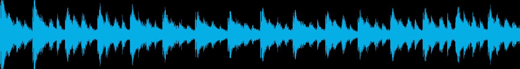 【ループA】かわいい感じのゆるやかテクノの再生済みの波形