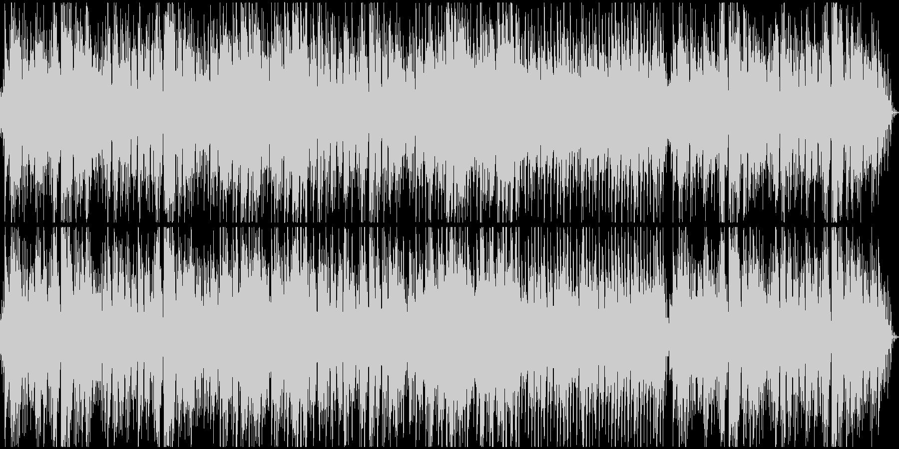 ループ オリエンタルなシンセとピアノの未再生の波形