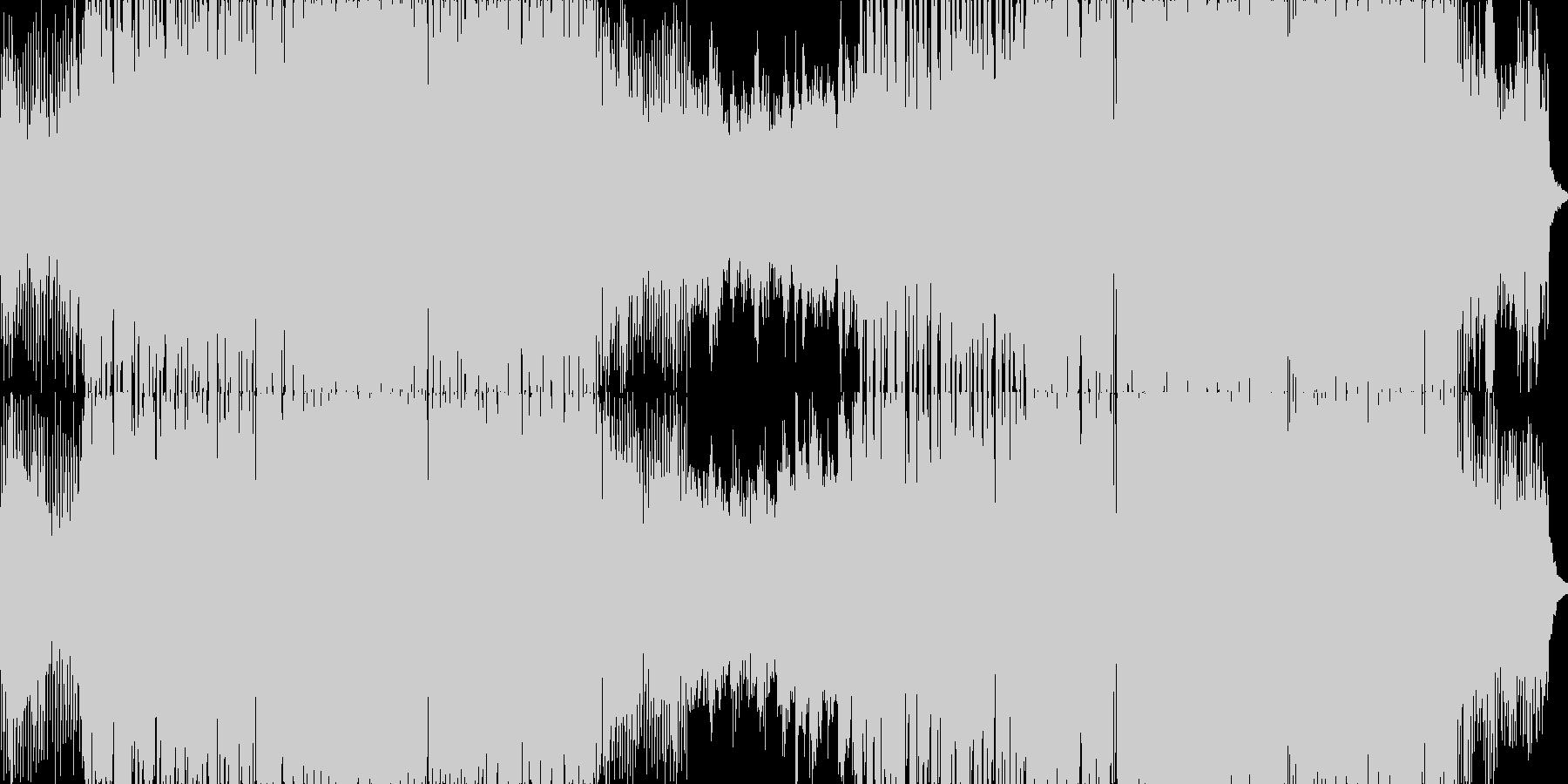 エモーショナルで軽快なエレクトロニックの未再生の波形
