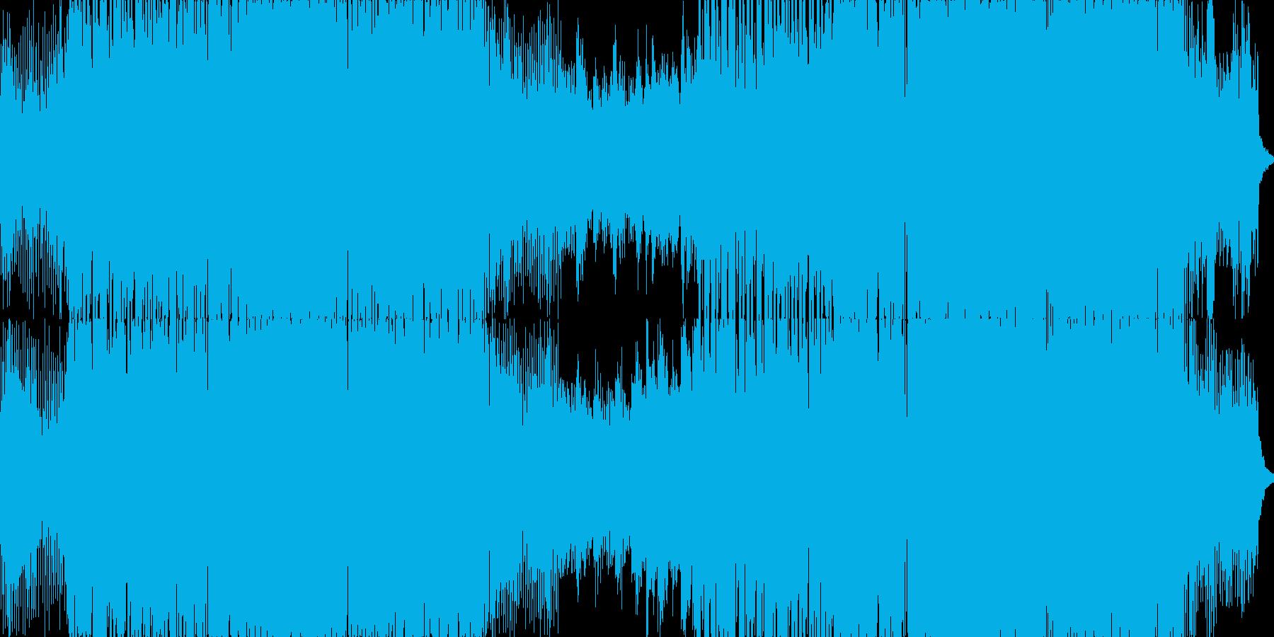 エモーショナルで軽快なエレクトロニックの再生済みの波形