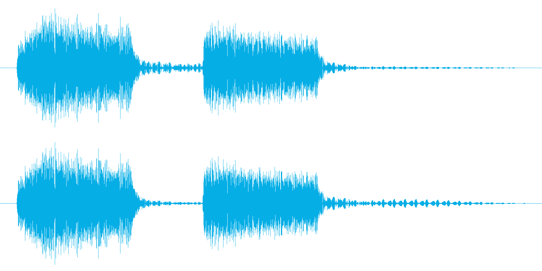 ブブッ/不正解/クイズの再生済みの波形