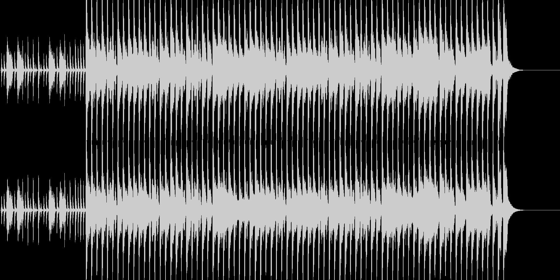 入場等に使える華やかで可愛い行進曲の未再生の波形