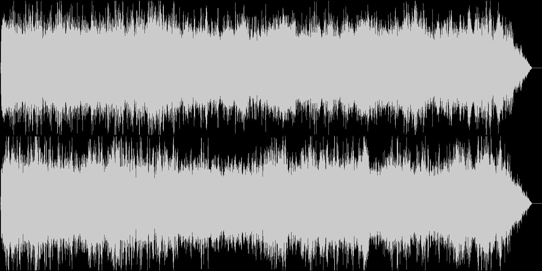 パイプオルガンとコーラス主体の教会BGMの未再生の波形