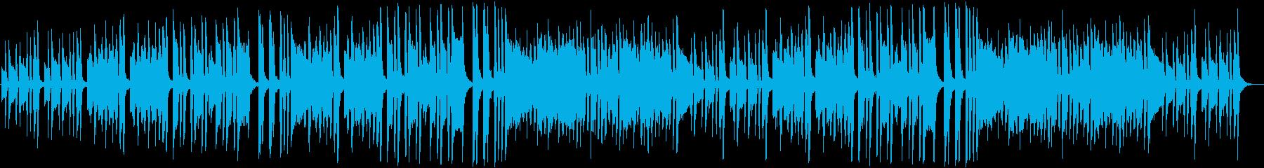 不気味でコミカルなクラシック曲の再生済みの波形