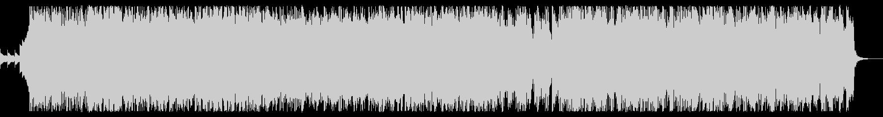 テンション高い疾走ポップロックの未再生の波形