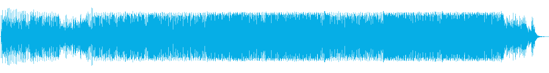 トロピカルハウス・ピアノ・EDMの再生済みの波形