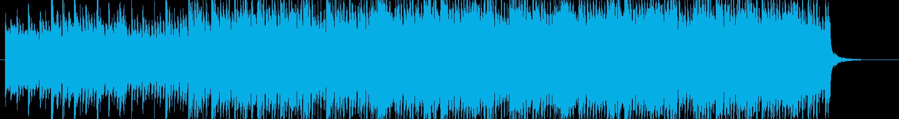 壮大、都会感のあるストリングス曲の再生済みの波形