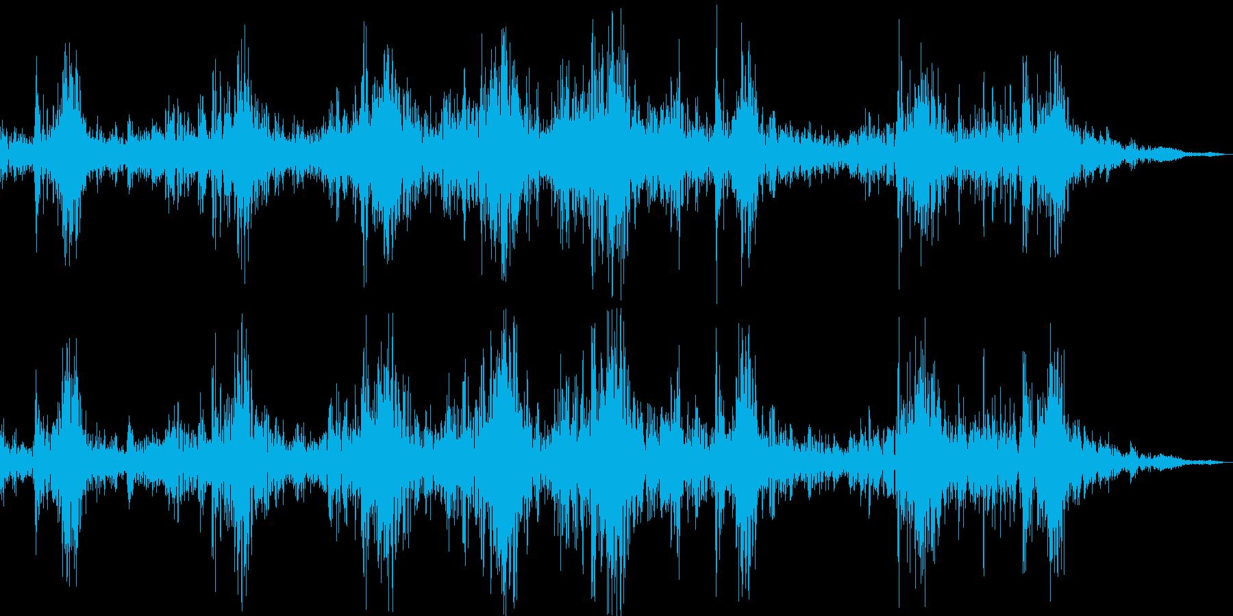 掃除機のコードを出すの再生済みの波形