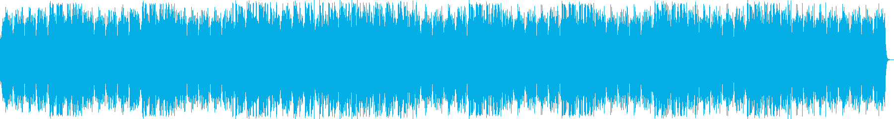 明るくきらめくシンセサイザーサウンドの再生済みの波形