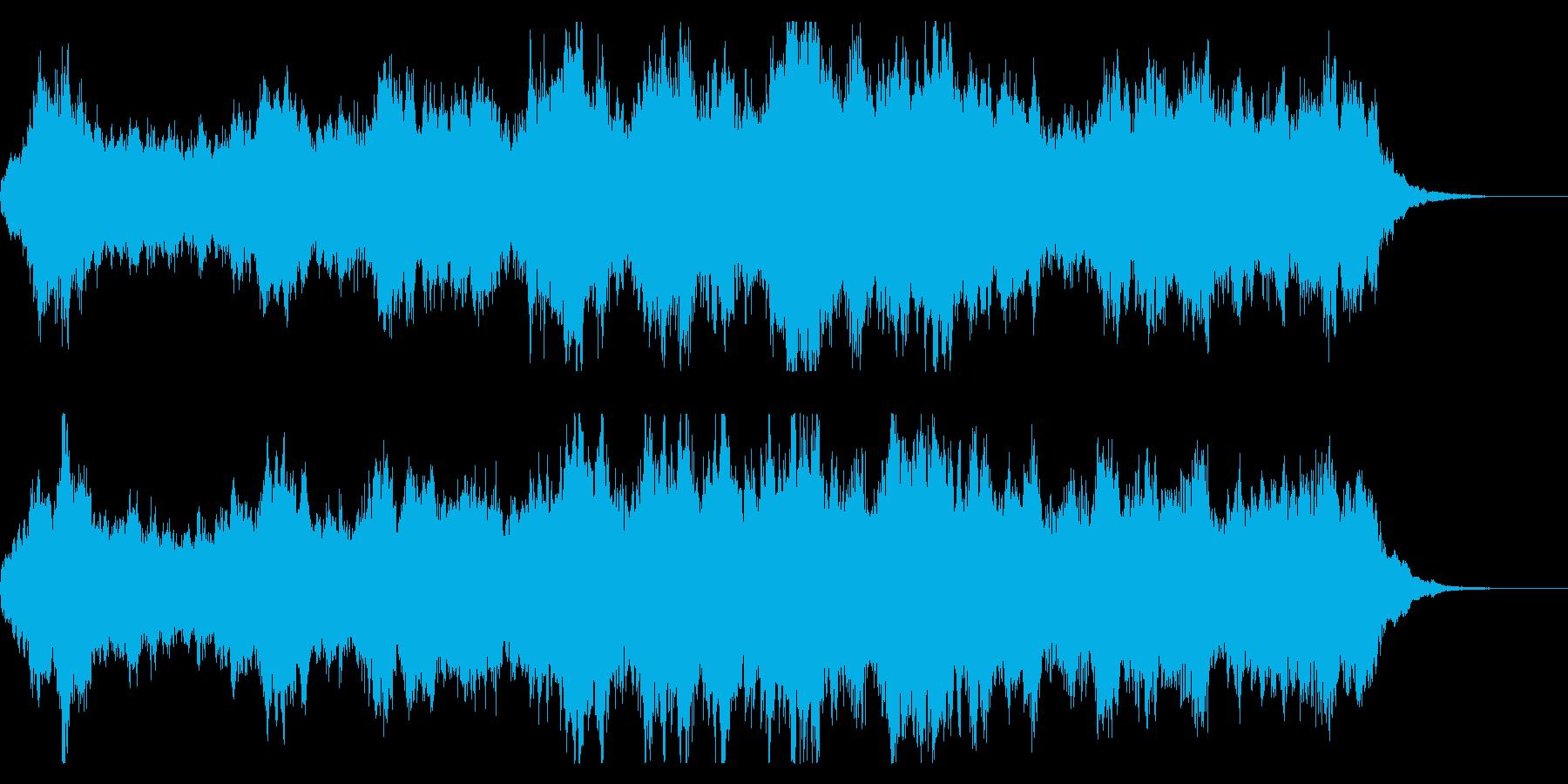 哀愁感のあるファンタジー系 ストリングスの再生済みの波形