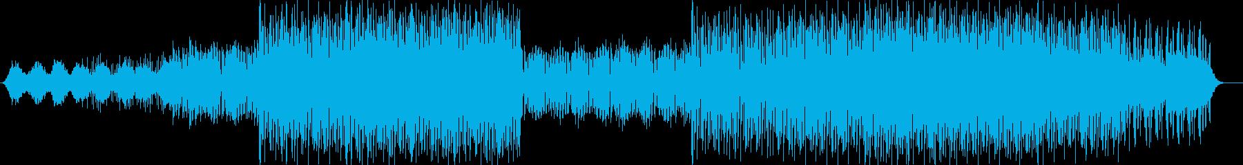 ドキュメンタリー向けBGMの再生済みの波形