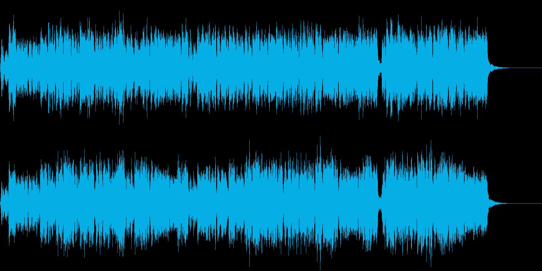 賛美歌風・混声合唱風・クリスマスの再生済みの波形